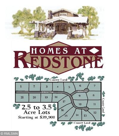 Pequot Lakes Residential Lots & Land For Sale: Lot 3 Redstone Trail