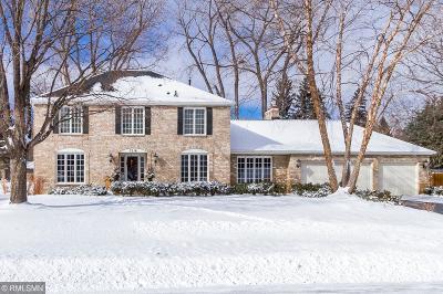 Edina Single Family Home For Sale: 7216 Lanham Lane