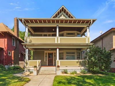 Saint Paul Multi Family Home For Sale: 1061 Dayton Avenue