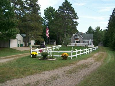 Pine County Single Family Home For Sale: 81606 Walters Lane