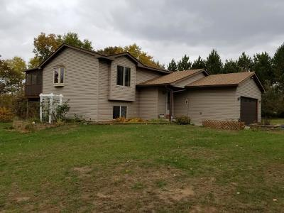 Isanti Single Family Home Contingent: 25800 Rum River Drive NW