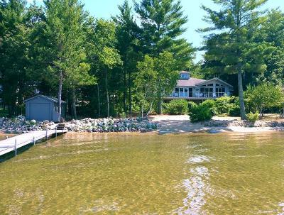 Merrifield Single Family Home For Sale: 26997 Pelican Lake Road