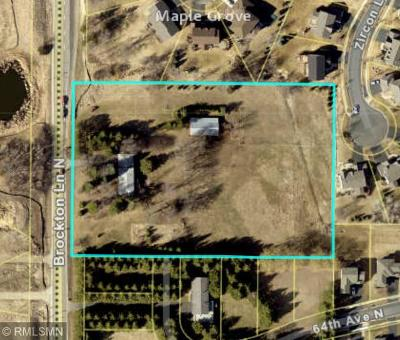 Maple Grove Residential Lots & Land For Sale: 6408 County Road 101 N