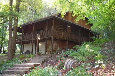 Menomonie Single Family Home For Sale: N3285 630th Street