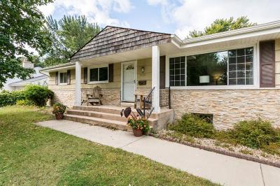 Edina Single Family Home For Sale: 7108 Bristol Boulevard