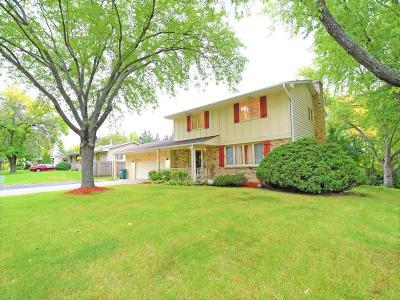 Wayzata, Plymouth Single Family Home For Sale: 4000 Nathan Lane N