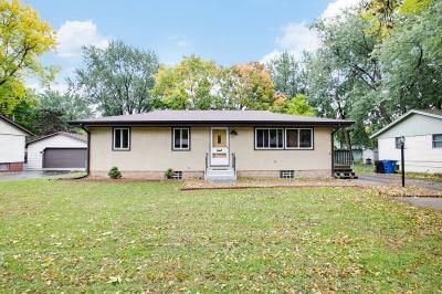 Fridley Single Family Home For Sale: 7613 Bacon Drive NE