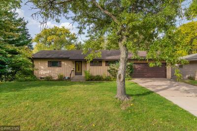 Fridley Single Family Home For Sale: 6336 Riverview Terrace NE