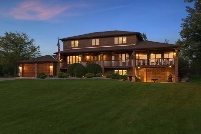 Lino Lakes Single Family Home Contingent: 7608 Peltier Lake Drive