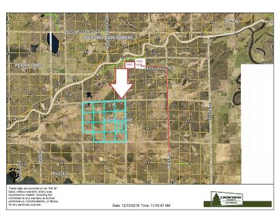 Aitkin Residential Lots & Land For Sale: Xxx Rabbit Lake Twp