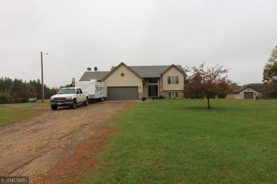 Isanti Single Family Home For Sale: 5338 278th Avenue NE