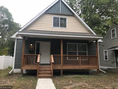 Minneapolis Single Family Home For Sale: 4634 Aldrich Avenue N