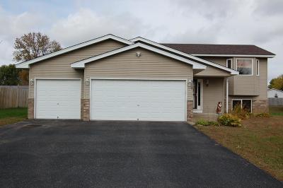 Isanti Single Family Home Contingent: 518 Birch Street SW