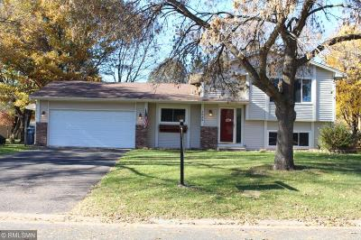 Shoreview Single Family Home For Sale: 1525 Oakwood Drive