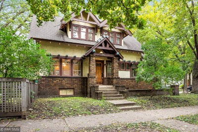 Minneapolis Single Family Home For Sale: 3149 Fremont Avenue S