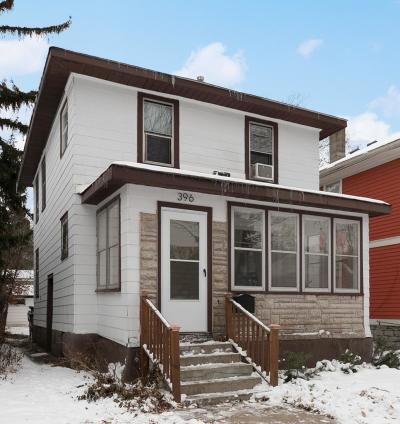 Saint Paul Single Family Home For Sale: 396 Goodrich Avenue