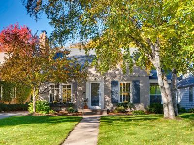 Saint Louis Park Single Family Home For Sale: 3804 Kipling Avenue