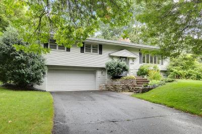 Edina Single Family Home Contingent: 6805 Brook Drive
