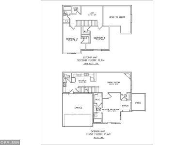 Saint Michael Condo/Townhouse For Sale: 11297 16th Street NE