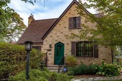 Minneapolis Single Family Home For Sale: 3724 W 22nd Street