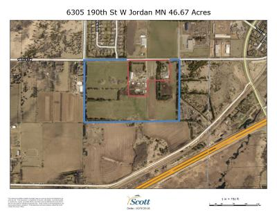 Scott County Residential Lots & Land For Sale: 6305 W 190th Street