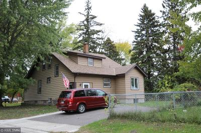 Cambridge MN Single Family Home For Sale: $120,000