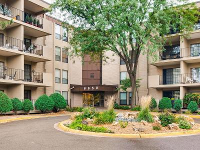 Edina Condo/Townhouse For Sale: 6650 Vernon Avenue S #216