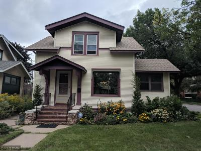 Saint Paul Single Family Home For Sale: 1539 Edmund Avenue