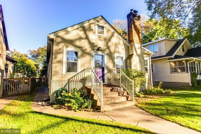 Minneapolis Single Family Home For Sale: 5217 Columbus Avenue