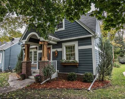Single Family Home For Sale: 4112 Wooddale Avenue S