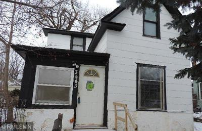 Minneapolis Single Family Home For Sale: 3443 Bryant Avenue N