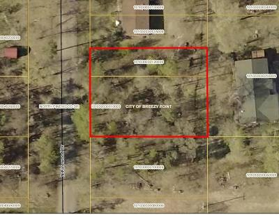 Breezy Point Residential Lots & Land For Sale: Tbd N Pinewood Dr