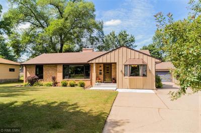 Saint Louis Park Single Family Home For Sale: 7924 W 25th Street