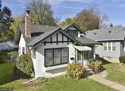 Single Family Home For Sale: 4234 Stevens Avenue