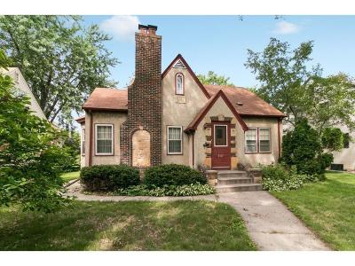 Single Family Home Contingent: 4337 Washburn Avenue N