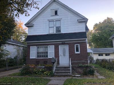 Saint Paul Single Family Home For Sale: 592 Forest Street