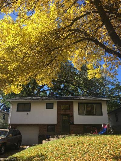 Saint Paul Single Family Home For Sale: 1373 Bradley Street