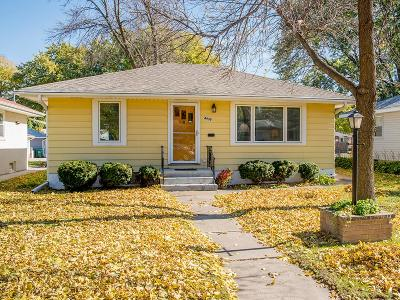 Minneapolis Single Family Home Contingent: 4938 Russell Avenue N