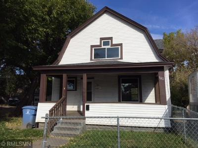 Minneapolis Single Family Home For Sale: 1612 Golden Valley Road