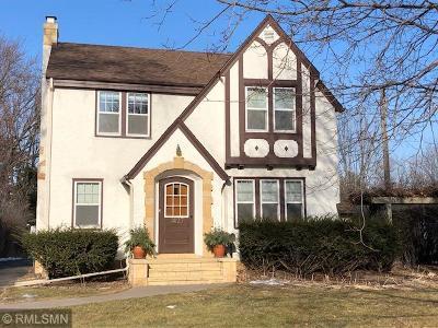 Roseville Single Family Home For Sale: 1427 Roselawn Avenue W