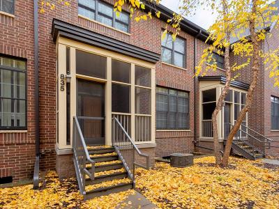 Minneapolis Condo/Townhouse For Sale: 835 River Mews Court