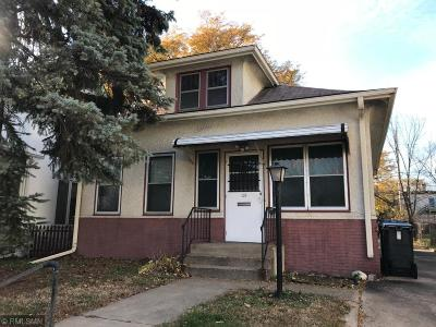 Minneapolis Single Family Home For Sale: 454 Buchanan Street NE