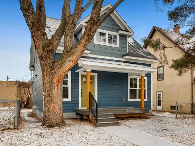 Minneapolis Single Family Home For Sale: 1407 Monroe Street NE