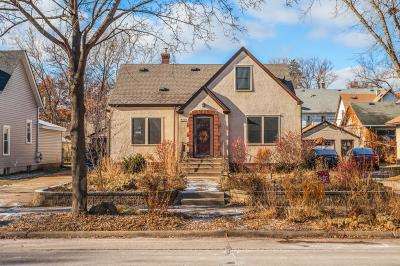 Minneapolis Single Family Home For Sale: 4410 42nd Avenue S