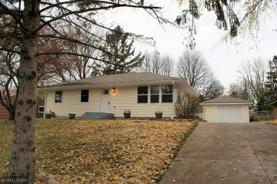 Shoreview Single Family Home For Sale: 1029 Glenhill Road