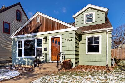 Saint Paul Single Family Home Contingent: 2153 James Avenue