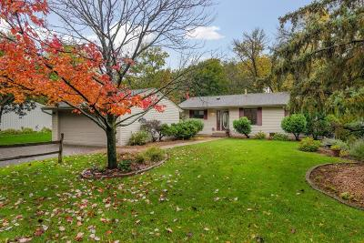 Maple Grove Single Family Home Contingent: 11789 Red Fox Drive