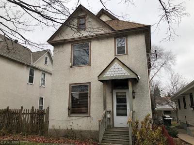 Minneapolis Multi Family Home For Sale: 646 Jefferson Street NE