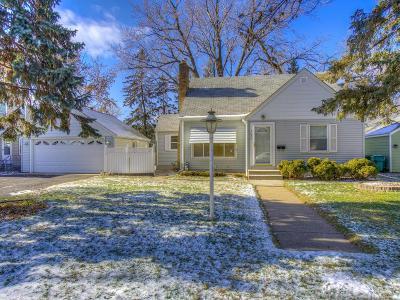 Richfield Single Family Home For Sale: 7626 Colfax Avenue S