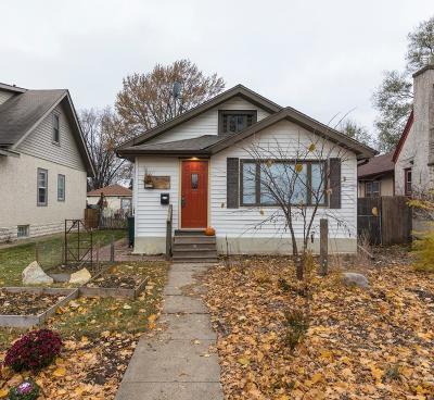 Minneapolis Single Family Home Contingent: 3734 26th Avenue S